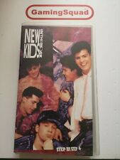 New Kids on the Block, Step by Step VHS Video Retro, Supplied by Gaming Squad