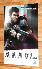 Tom Clancy's Splinter Cell Conviction Final Fantasy XIII 13 Rare Poster Xbox 360