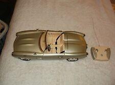 2004 Bratz Tan Colored RC Car W/Remote Radio/1 Headlight Work 18 Inches Long