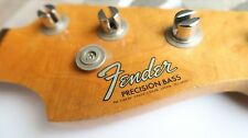 1966 Fender Precision Bass Neck / Original Tuners Rosewood Vintage P 5APR66C EXC