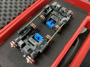 NDT Phased Array PAUT Inspection scanner, small size 4 wheels weld Dual Probe