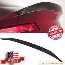 Scopione MATTE Carbon Fiber Rear KAMM Spoiler for Aston Martin 06-17 V8 Vantage