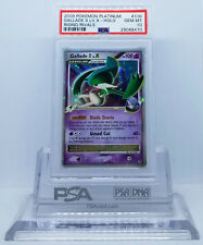 Pokemon PLATINUM RISING RIVALS GALLADE 4 LV X #106 HOLO FOIL PSA 10 GEM MINT #*
