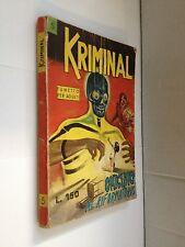 EDIITORIALE CORNO - KRIMINAL N.5 OMICIDIO AL RIFORMATORIO   AUT. 1964 -  BUONO -