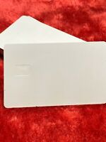 Blank PvC Credit / Debit / Id Cards With Chip Hole Ready. Sets Of #40X$10.00
