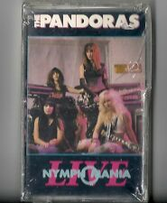 RARE:The Pandoras - LIVE Nymphomania (Cassette 1989  Restless) Promo Cut-Out