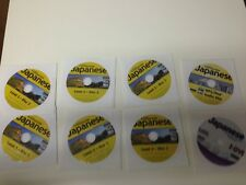 TOPICS ENTERTAINMENT INSTANT IMMERSION JAPANESE 8 CD DISC SET LEARNING 2009