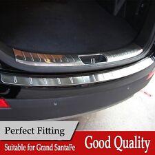 fit Hyundai Grand Santa Fe 2013-2017 rear door plate bumper cover door sill trim
