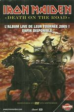 FLYER PLV - IRON MAIDEN : DEATH ON THE ROAD LIVE 2005