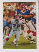 1998 Topps Gold Label #80 Bruce Smith refractor card, Buffalo Bills HOF