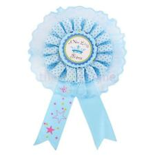 A New little Prince Blue Badge Rosette for Baby Boy Gift Baby Shower Decor