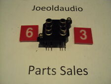 JVC R-S33 RCA Jack Panel w/ Mounting Screws. Tested. Parting Out JVC R-S33