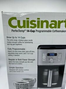 Cuisinart PerfecTemp 14cup Programmable Coffee Maker CBC-6800PC