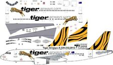 Tiger Australian Airbus A-320 decals for Revell 1/144 kit