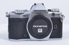 Cámara Digital Olympus OM-E-M5 Mark II Mirrorless D Micro Cuatro Tercio (plata)