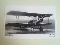 RP Postcard Bristol Scout - One Gnome Engine - Vintage Aircraft
