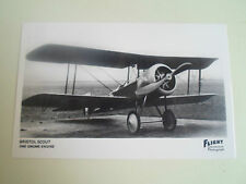 RP Postcard Bristol Scout - One Gnome Engine - Vintage Aircraft