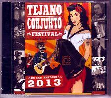 TEJANO CONJUNTO FESTIVAL 2013 CD LIVE at ROSEDALE PARK Flaco Jimenez NEW