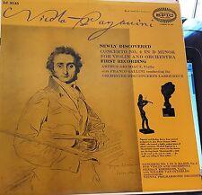 Krebbers: Paganini Violin Concerto No. 1 / Grumiaux No. 4 - Epic LC 3143 NM/NM