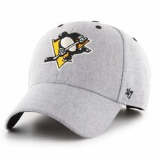 47 Brand Adjustable Cap - STORM CLOUD Pittsburgh Penguins