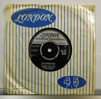 """Johnny and the Hurricanes Red River Rock 45 RPM 7"""" single 1959 London 45-HL 8948"""