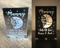 Personalised Gifts Her Mum Mummy Nanny Nana Granny Christmas Candle Holder Gifts