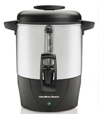 Hamilton Beach 40 Cup Coffee Urn Large Portable Dispenser Brewer Home Office NEW