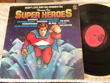 GEOFF LOVE THEMES FROM SUPER HERO VINYL RECORD LP 12""