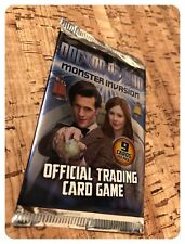 Doctor Who Monster Invasion Trading Cards 1 x Packet (9 Random Cards Per Pack)