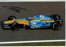 Fernando Alonso Renault R25 F1 World Champion 2005 Firmado fotografía 2