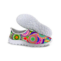 Cool Fashion Women's Breathable Recreational Sports Running Casual Flat shoes