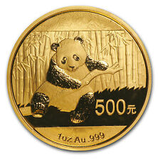 2014 1 oz Gold Chinese Panda Coin - Sealed in Plastic - SKU #79053