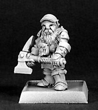 Dwarf Miner Reaper Miniature Warlord Cleric Fighter Paladin Warrior Knight Melee