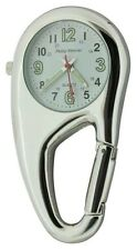 Clip on Carabiner Style Sprung Nurses Doctors Fob Watch NW09A