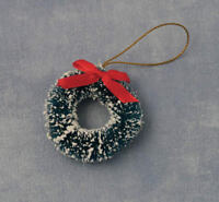 Kranz mit Schleife 5cm / Wreath with Bow Dollhouse Puppenstube 1:12 Art 9239