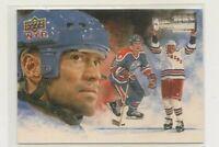 MARK MESSIER ~ Hockey Heroes ~ 2009-10 Upper Deck #HH28 PAINTED ~ Oilers Rangers