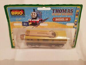 Thomas The Tank Engine & Friends BRIO DIESEL 10 WOOD TRAIN WOODEN NEW IN BOX