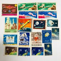 Lot 18 1960's Space Stamps