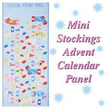 Noël 2160 00 Mini Chaussettes pour enfants Avent Calendrier Tissu À faire soi-même Panneau
