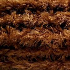 "1/4 yd 785S/C Redhead Intercal 3/4"" Med. Dense Curly German Mohair Fabric"