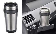 ACERO inox. Taza Térmica 400ml aislante de Auto Recipiente Bebida café