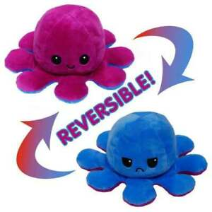 Happy/Angry Developmental Toy Present. Octopus Plush Toy