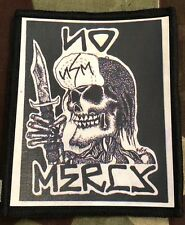 No Mercy Printed Patch N014P Suicidal Tendencies Final Conflict Circle Jerks