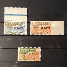 FRANCE COLONIE CAMEROUN N°233/235 NEUF SANS GOMME COTE 75€