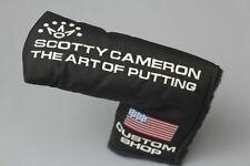 SCOTTY CAMERON CUSTOM SHOP HEADCOVER - US FLAG - NYLON BLACK