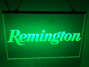 Remington Firearms Super Bright Led Neon Light Sign