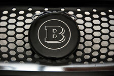 Great logo Brabus LED on grill +gratis sticker Mercedes Smart ForTwo 453 ForFour
