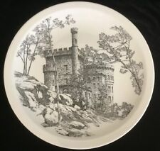 "Wedgwood The Castle 10 1/2"" Collector's Plate Etruria Barlaston"