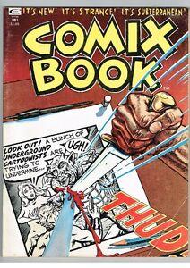 Comix Book No 1 1974 Underground Marvel Poplaksi