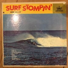 Don Dailey~Surf Stompin' CLP 53134 1963 Lp 1st Press Mono Excellent+ Very Rare!